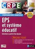 Alain Saint-Jalmes et Catherine Christin - EPS et système éducatif oral CRPE - Entretien à partir d'un dossier.