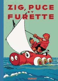 Alain Saint-Ogan - Zig et Puce Tome 7 : Zig, Puce et Furette.