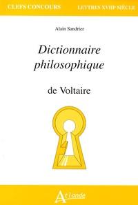 Dictionnaire philosophique de Voltaire - Alain Sandrier pdf epub