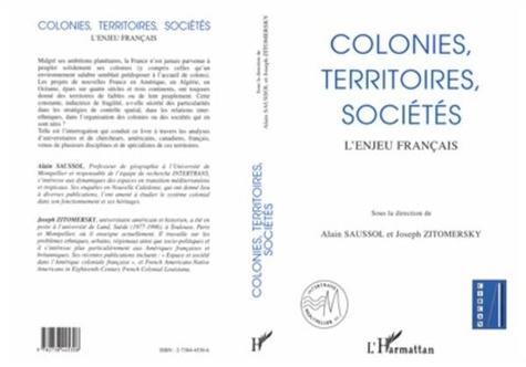 Alain Saussol - Colonies, territoires, sociétés - L'enjeu français.
