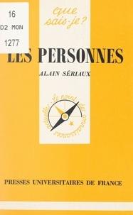 Alain Sériaux et Paul Angoulvent - Les personnes.