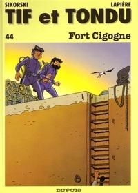Alain Sikorski et  Lapierre - Tif et Tondu Tome 44 : Fort cigogne.