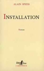 Alain Spiess - Installation.