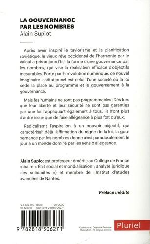 La Gouvernance par les nombres. Cours au Collège de France (2012-2014)