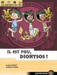 Alain Surget et Fabrice Parme - Les enfants du Nil Tome 8 : Il est fou, Dionysos !.
