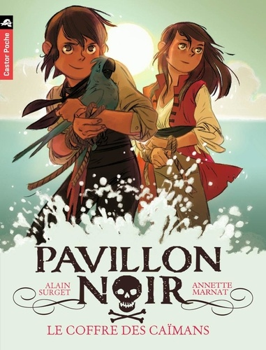 Alain Surget - Pavillon noir Tome 8 : Le coffre des Caïmans.