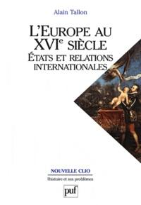 Icar2018.it L'Europe au XVIe siècle - Etats et relations internationales Image