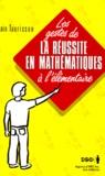 Alain Taurisson - LES GESTES DE LA REUSSITE EN MATHEMATIQUES A L'ELEMENTAIRE.