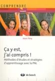 Alain Thiry - Ca y est, j'ai compris ! - Méthodes d'études et stratégie d'apprentissage avec la PNL.