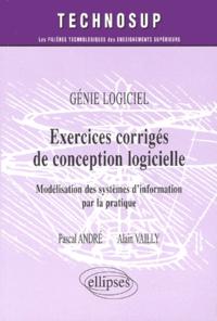 Exercices corrigés de conception logicielle. Modélisation des systèmes dinformation par la pratique.pdf