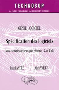 Alain Vailly et Pascal André - .