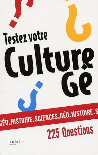 Alain Vallet - Testez votre culture gé.