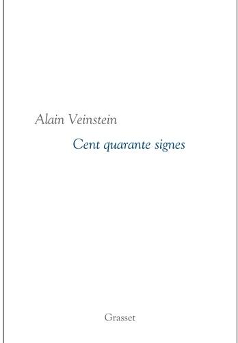 Cent quarante signes. Collection littéraire dirigée par Martine Saada