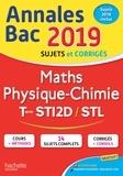 Alain Vidal et Gérard Guilhemat - Annales BAC Maths physique-Chimie Tles STI2D/STL.