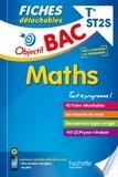 Alain Vidal et Grégory Viateau - Fiches détachables maths Tle ST2s.
