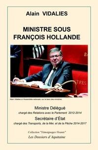 Alain Vidalies - Ministre sous François Hollande.