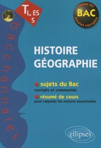 Alain Vignal - Histoire Géographie TL, ES, S.