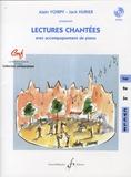 Alain Voirpy et Jack Hurier - Lectures chantées avec accompagnement de piano - 1er cycle. 1 CD audio