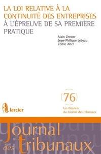 La loi relative à la continuité des entreprises à lépreuve de sa première pratique.pdf