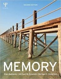 Alan Baddeley et Michael-W Eysenck - Memory.