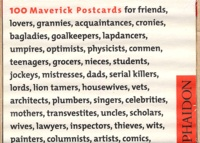Alan Flechter - 100 Maverick Postcards - Pictures, Images & Thoughts for Each Conceivable Occasion, édition en langue anglaise.