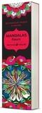Alan Guilloux - Mandala fleurs - 60 marque-pages à colorier.