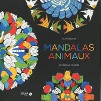 Meilleurs téléchargements de livres électroniques Mandalas animaux  - 55 dessins à colorier par Alan Guilloux
