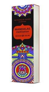 Alan Guilloux - Mandalas méditation - 60 marque-pages à colorier.
