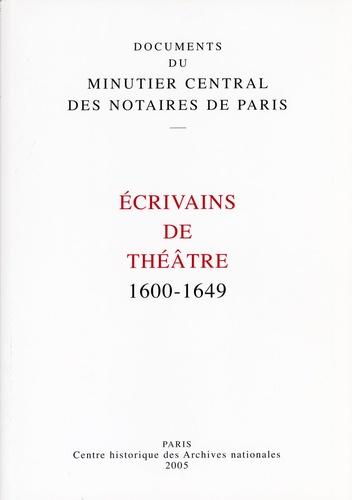 Alan Howe - Ecrivains de théâtre : 1600-1649 - Archives nationales.