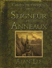 Alan Lee - Cahier de croquis du Seigneur des Anneaux.