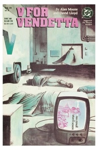 Alan Moore et David Lloyd - V pour Vendetta - Chapitre 4.