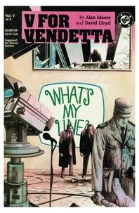 Alan Moore et David Lloyd - V pour Vendetta - Chapitre 5.
