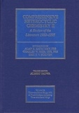 Alan R. Katritzky et C.W Rees - Comprehensive Heterocyclic Chemistry II - A Review of the Literature 1982-1995 : The Structure, Reactions, Synthesis, and Uses of Heterocyclic Compounds (11 Volume Set).