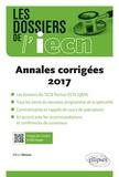 Alban Deroux - Annales corrigées 2017.
