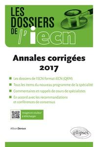 Annales corrigées 2017 - Alban Deroux |
