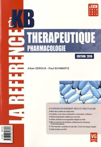 Thérapeutique Pharmacologie - Alban Deroux |