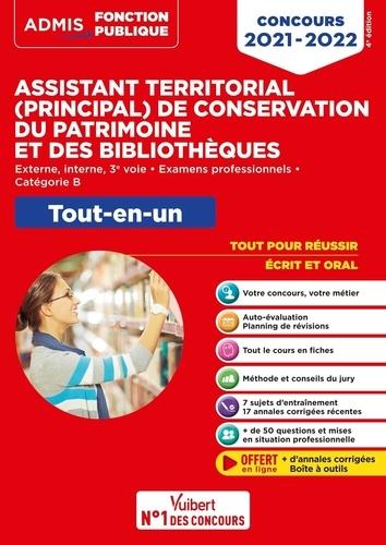 Concours Assistant territorial principal de conservation du patrimoine et des bibliothèques. Tout-en-un  Edition 2021-2022