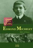Albéric de Palmaert - Edmond Michelet - Quand il avait 12 ans.