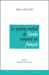 Lemememonde.fr Le système verbal de l'arabe comparé au français. Enonciation et pragmatique Image