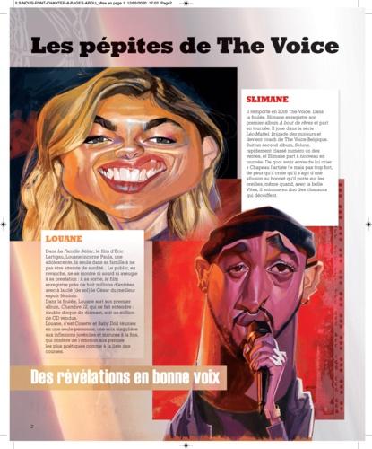 Ils nous font chanter !. 50 stars de la scène française
