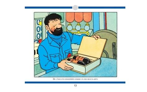 Le Haddock illustré. L'intégrale des jurons du capitaine Haddock  édition revue et corrigée