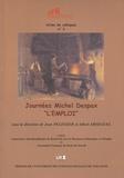 """Albert Arseguel et Jean Pélissier - Journées Michel Despax """"""""L'emploi""""""""."""