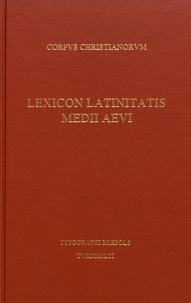 Albert Blaise - Lexicon latinitatis medii aevi - Dictionnaire latin-français des auteurs du Moyen Age.