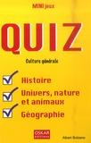 Albert Bolzano - Quiz culture générale - Histoire, univers, nature et animaux, géographie.