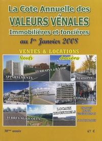 Albert Callon - Valeurs vénales au 1er janvier 2008.