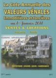 Albert Callon - Valeurs vénales au 1er janvier 2011.