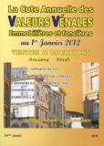 Albert Callon - Valeurs vénales au 1er janvier 2012.