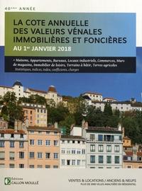 Albert Callon - Valeurs vénales au 1er janvier 2018.
