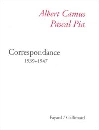 Albert Camus et Pascal Pia - .