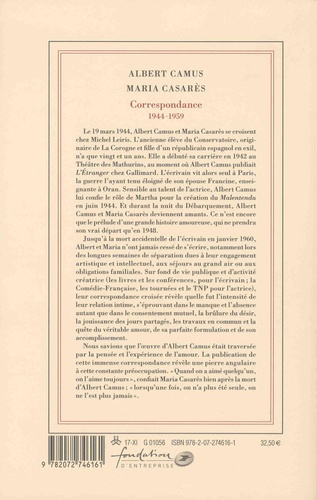 Correspondance. 1944-1959